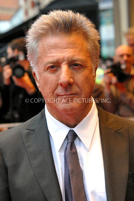 WWW.ACEPIXS.COM . . . . .  ..... . . . . US SALES ONLY . . . . .....June 3 2009, London....Dustin Hoffman at the UK premiere of 'Last Chance Harvey' at the Odeon West End on June 3 2009 in London, England.....Please byline: FAMOUS-ACE PICTURES... . . . .  ....Ace Pictures, Inc:  ..tel: (212) 243 8787 or (646) 769 0430..e-mail: info@acepixs.com..web: http://www.acepixs.com