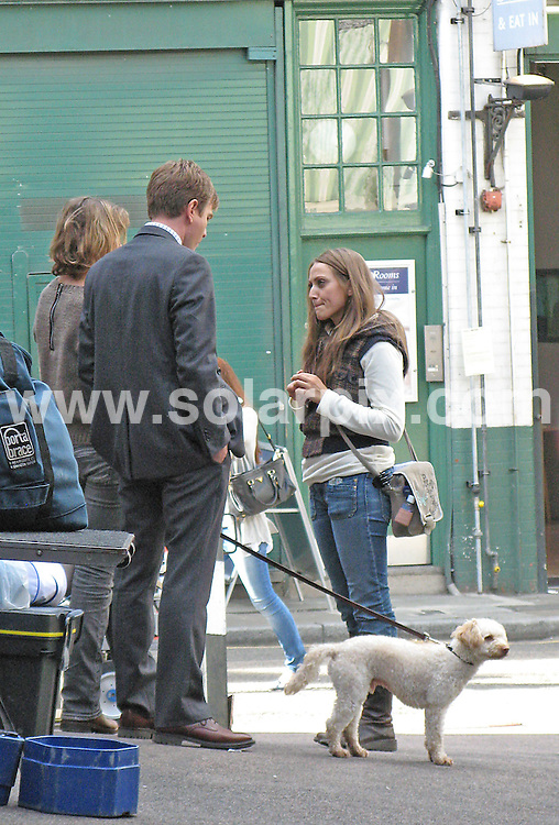 **ALL ROUND EXCLUSIVE PICTURES FROM SOLARPIX.COM**                                             **SYNDICATION RIGHTS FOR UK, AUSTRALIA & NEW ZEALAND ONLY**                                                                                  Caption: Ewan McGregor and Emily Blunt, seen here filming scenes from director Lasse Hallstrom's new movie (The Cider House Rules and Chocolat) Salmon Fishing in the Yemen in Borough market in London..A smiling Ewan McGregor arrived with his dog, where he was shooting the first scene of the day in front of a famous Spanish food store under the surprised gaze of onlookers. London, UK. 21 September 2010                                                                             This pic: Ewan McGregor                                                                                           JOB REF: 12160 SKX       DATE: 21_09_2010                                                           **MUST CREDIT SOLARPIX.COM OR DOUBLE FEE WILL BE CHARGED**                                                                      **MUST AGREE FEE BEFORE ONLINE USAGE**                               **CALL US ON: +34 952 811 768 or LOW RATE FROM UK 0844 617 7637**