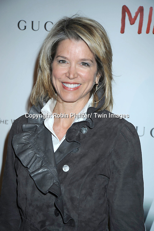 "Paula Zahn attending the premiere of"" Miral"" at The United Nations on March 14, 2011 in New York City. Julian Schnabel directed the movie which is from the book by his girlfriend Rula Jebreal."