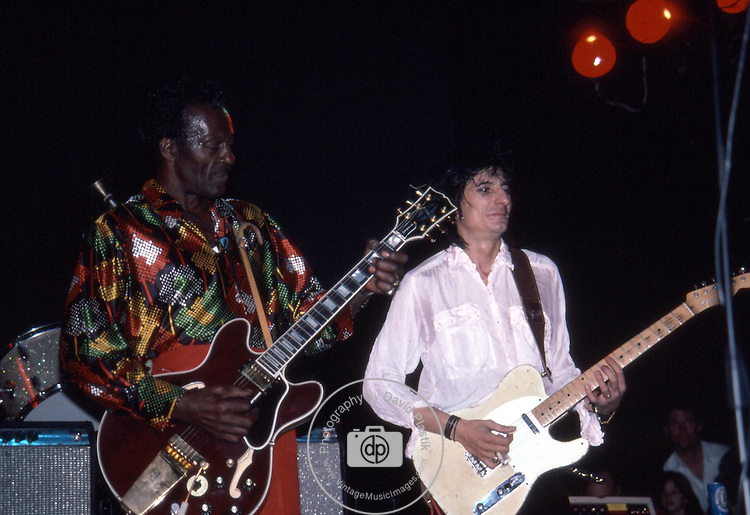 Chuck Berry, Ron Wood