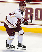 Julius Mattila (BC - 26) - The Boston College Eagles defeated the visiting UConn Huskies 2-1 on Tuesday, January 24, 2017, at Kelley Rink in Conte Forum in Chestnut Hill, Massachusetts.