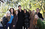"Bonnie Dennison, Jennifer Rozsell, Michael O'Leary, Yvonna Wright, Jessica Leccia, Beth Chamberlin, Frank Dicoupolis, Caitlin Van Zandt participate in ""A New Project With Old Friends - a group of former Guiding Lighters - actors and production - recently got together on a beautiful Sunday for a day of taping, talking and pizza. It was a great day. Details to follow... "" (Photo by Sue Coflin/Max Photos)"