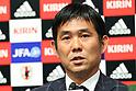 Hajime Moriyasu (JPN), <br /> OCTOBER 30, 2017 - Football / Soccer : <br /> U-21 Japan's new head coach Hajime Moriyasu attends a press conference at JFA House in Tokyo, Japan. <br /> (Photo by AFLO)