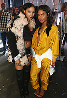NEW YORK, NY - SEPTEMBER 10, 2016 Tinashe & Christina Milian attend the Alexander Wang Fashion Show after party September 10, 2016 at Pier 94 in New York City. Photo Credit: Walik Goshorn / Mediapunch