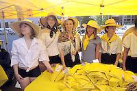 - Milano, manifestazione coltivatori di riso della Coldiretti in protesta contro l'importazione di riso dai paesi dell'estremo oriente ed in sostegno della produzione nazionale.<br /> <br /> - Milan demonstration of Coldiretti rice farmers in protest against the importation of rice from Far East countries and in support of national production.