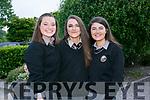 At the Brookfield College Graduation in the Ballyroe Heights Hotel on Thursday were Ursula Ni Mhochoir, Lorraine De Nais,  and Janine Ni Chonchuir