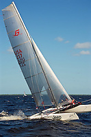 EUS- Zhik F-18 Americas Championship Race - Race Highlights, Port Charlotte FL 10 15