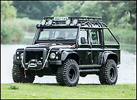 Fancy driving James Bond's Landrover?
