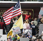 Gary Wilcox-- 05/21/10- - Sarah Palin speaking at the Tea Party rally at Boston Common in Boston Massachusetts on Friday April 14, 2010.