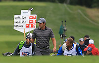 Chris  Hanson (ENG) on the 5th fairway during Round 3 of the D+D Real Czech Masters at the Albatross Golf Resort, Prague, Czech Rep. 02/09/2017<br />