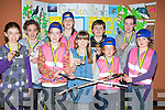 PROJECT: Winners in the under 11/13 & 16in from Lixnaw in the  Community Games Home projects in the KDYS Denny Street, Tralee on Friday night. L-r: Deirdre Hunt,Ciara Thornton, Roisi?n McElligott, Ciara Galvin, Elena and Donagh MCElligott, Ma?ire Trant, Aoife Mahony and Aoife Hennessy.  ................ . ............................... ..........