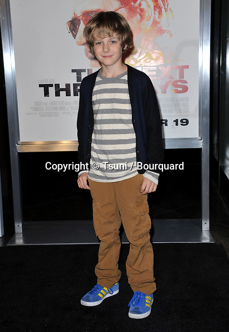 Ty Simpkins  -  The Next Three Days Premiere at the DGA in Los Angeles.