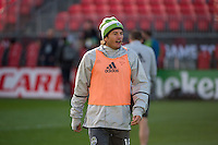 Toronto, ON, Canada - Friday Dec. 09, 2016: Nelson Valdez during training prior to MLS Cup at BMO Field.