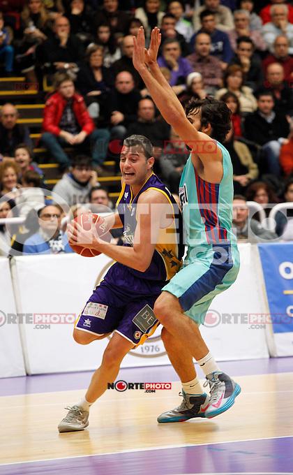 Blancos de Rueda Valladolid V Barcelona ACB match. January 20, 2013..(ALTERPHOTOS/Victor Blanco) /NortePhoto