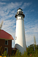 The Au Sable Lighthouse is located on Lake Superior in the beautiful Upper Peninsula of Michigan.