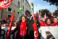 """Mahamoud """"Max"""", Trade Unionist.<br /> <br /> Rome, 01/05/2019. This year I will not go to a MayDay Parade, I will not photograph Red flags, trade unionists, activists, thousands of members of the public marching, celebrating, chanting, fighting, marking the International Worker's Day. This year, I decided to show some of the Workers I had the chance to meet and document while at Work. This Story is dedicated to all the people who work, to all the People who are struggling to find a job, to the underpaid, to the exploited, and to the people who work in slave conditions, another way is really possible, and it is not the usual meaningless slogan: MAKE MAYDAY EVERYDAY!<br /> <br /> Happy International Workers Day, long live MayDay!"""