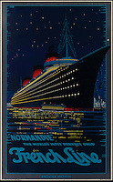 BNPS.co.uk (01202 558833)<br /> Pic: SwannGalleries/BNPS<br /> <br /> ***Please Use Full Byline***<br /> <br /> 1935 poster of 'Normandie' - &pound;15,000.<br /> <br /> Beautiful posters from the halcyon days of travel up for auction.<br /> <br /> Scarce vintage travel posters promoting holidays across the globe in the 1920's and 30's are tipped to sell for over &pound;200,000 .<br /> <br /> The fine collection of 200 works of art that hark back to the halcyon days of train and boat travel have been brought together for sale.<br /> <br /> The posters were used to advertise dream holiday destinations in far-flung places such as the US and Australia and to celebrate the luxurious ways of getting to them.<br /> <br /> Most of the advertising posters date back to the 1930s and are Art Deco in style and they are all from the original print-run.