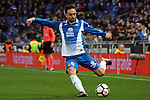 League Santander 2017-2018 - Game: 24.<br /> RCD Espanyol vs Villarreal CF: 1-1.<br /> Sergio Garcia.
