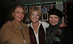 Denise Pence (on GL with Ellen as Kathy Parker) & Ellen Dolan (GL - Maureen Reardon Bauer and ATWT Margo Hughes) & Joanne Dorian (OLTL as Viki Lord Buchanan just before Erika Slezak took the role) and was married to Michael Zaslow for seven years - The Workshop Theater Company presents Cold Snaps December 9 through December 19, 2009 at the Jewel Box Theatre, New York City, New York - Nine Short Plays to Warm the Warm December Night. (Photo by Sue Coflin/Max Photos)