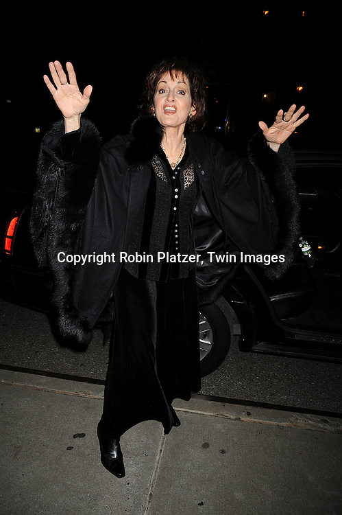 Robin Strasser..at The ABC Daytime Casino Event on October 23, 2008 at ..Guastavinos in New York City. ....Robin Platzer, Twin Images