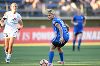 Seattle, WA - Friday June 23, 2017: Jess Fishlock during a regular season National Women's Soccer League  (NWSL) match between the Seattle Reign FC and FC Kansas City at Memorial Stadium.