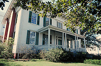 First White House of the Confederacy in Montgomery, Alabama. Montgomery Alabama United States.