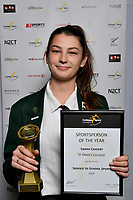 Trust House Foundation - Service to School Sport Awards, Sarah Calvert, CSW Sportsperson of the Year Awards  at Te Rauparaha Arena, Porirua, New Zealand on Sunday 4 November  2018. <br />