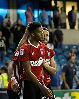 GOAL - Ipswich Town's Jordan Spence scores the winner during the Sky Bet Championship match between Millwall and Ipswich Town at The Den, London, England on 15 August 2017. Photo by Carlton Myrie.