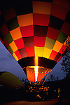 Pre-dawn Hot Air Balloon Launch, Yountville, Napa Valley, Napa County, California