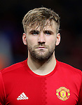 Luke Shaw of Manchester United during the UEFA Europa League match at Old Trafford, Manchester. Picture date: November 24th 2016. Pic Matt McNulty/Sportimage