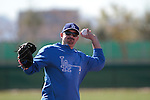Adrian Gonzalez   of Los Angeles Dodgers,during Spring Trainig 2013..Camelback Ranch  in Arizona. February 25, 2013