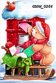 Roger, CHRISTMAS ANIMALS, WEIHNACHTEN TIERE, NAVIDAD ANIMALES, paintings+++++,GBRM0264,#XA#
