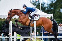 NZL-Tayla Mason rides Centennial during the Showjumping for the Gain Equine Nutrition CCI3*-L. 2019 IRL-Sema Lease Camphire International Horse Trials. Cappoquin. Co. Waterford. Ireland. Sunday 28 July. Copyright Photo: Libby Law Photography