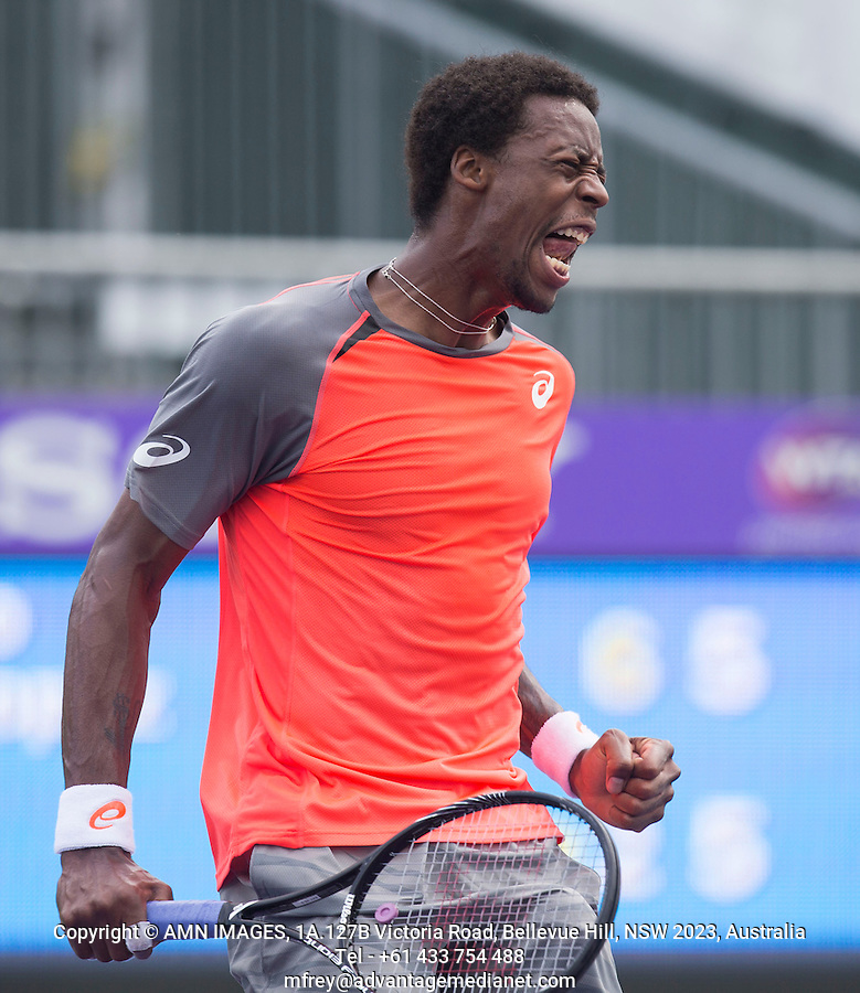 GAEL MONFILS (FRA)<br /> Tennis - Sony Open - ATP-WTA -  Miami -  2014  - USA  -  22 March 2014. <br /> &copy; AMN IMAGES