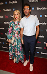 "Rose Byrne and Bobby Cannavale attends the Broadway Opening Night of ""Tootsie"" at The Marquis Theatre on April 22, 2019  in New York City."