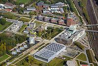 Wilhelmsburgs neue Mitte: EUROPA, DEUTSCHLAND, HAMBURG, (EUROPE, GERMANY), 28.09.2014: Stadtquartier im Zentrum  Wilhelmsburg.