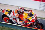 The Rider Marc Marquez during the qualifying practice of MotoGP Grand Prix of Catalunya. 06/14/2014. Samuel Roman/Photocall3000