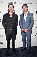 Brandon Purst &amp; Brad Richards at the USA Network and Mr. Porter Presents &quot;A SUITS STORY&quot; event at NYC's High Line in New York City.  June 12, 2012.   &copy; Laura Trevino/MediaPunch Inc NORTEPHOTO.COM<br /> NORTEPHOTO.COM