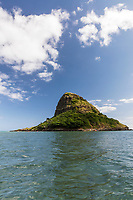 Chinaman's Hat (or Mokoli'i Island, from a kayaker's point of view, Kane'ohe Bay, Windward O'ahu.