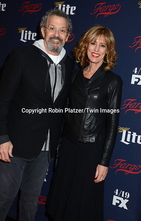 Thomas Schlamme &amp; wife Christine Lahti attends FX's 2017 All-Star Upfront on  April 6, 2017 at SVA Theater in New York, New York, USA. <br /> <br /> photo by Robin Platzer/Twin Images<br />  <br /> phone number 212-935-0770