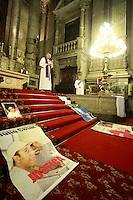 Rio de Janeiro,27 de julho de 2012- Na manhã desta sexta-feira(27)na igreja da Candelária, no centro do RJ, acontece a missa pelos 19 anos dos  meninos da Chacina da Candelária.<br /> Guto Maia/ Brazil Photo Press<br /> Guto Maia Brazil Photo Press