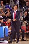 Turkish Airlines Euroleague 2017/2018.<br /> Regular Season - Round 28.<br /> FC Barcelona Lassa vs Baskonia Vitoria Gasteiz: 73-86.<br /> Pedro Martinez.