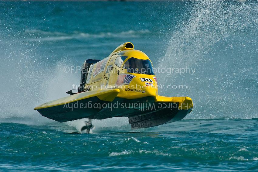 8-10 August 2008  Algonac, MI USA.Terry Rinker's AeroSlot/Mercury.©F.Peirce Williams 2008