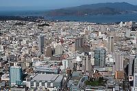 aerial photograph SOMA San Francisco, California