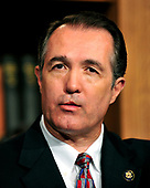 United States Representative Trent Franks (Republican of Arizona) announces his opposition to the health care reform bill, in spite of the executive order issued by U.S. President Barack Obama that preserves the existing ban on federal funding of abortion, in the U.S. Capitol in Washington, D.C. on Sunday, March 21, 2010.  Franks announced his resignation from the House on December 7, 2017 as the US House Ethics Committee investigated his asking two female staffers about surrogate motherhood.<br /> Credit: Ron Sachs / CNP