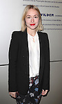Sarah Goldberg attending the Opening Night Performance of 'The Whale' at Playwrights Horizons' Peter Jay Sharpe Theater in New York City on 11/05/2012