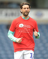 Blackburn Rovers' Charlie Mulgrew during the pre-match warm-up <br /> <br /> Photographer Kevin Barnes/CameraSport<br /> <br /> The EFL Sky Bet Championship - Blackburn Rovers v Swansea City - Sunday 5th May 2019 - Ewood Park - Blackburn<br /> <br /> World Copyright © 2019 CameraSport. All rights reserved. 43 Linden Ave. Countesthorpe. Leicester. England. LE8 5PG - Tel: +44 (0) 116 277 4147 - admin@camerasport.com - www.camerasport.com