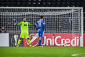 28th September 2017, Partizan Stadium, Belgrade, Serbia; UEFA Europa League group stage, Partizan versus Dynamo Kiev; Forward Junior Moraes of Dynamo Kiev steps forward to take the penalty