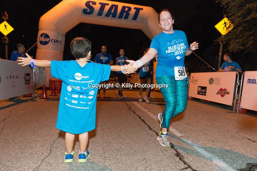 Blue Cure Night Run, 2015
