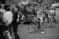 Jan Denuwelaere (BEL/Vastgoedservice-Golden Palace) post-race<br /> <br /> GP Neerpelt 2014